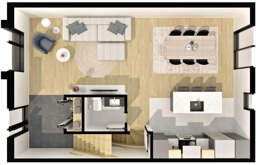 plan-etage-maisons-en-rangee