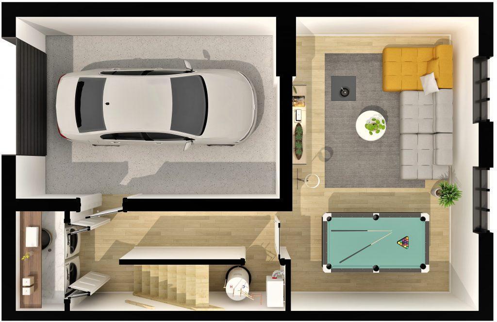 plan-du-sous-sol-maisons-en-rangee