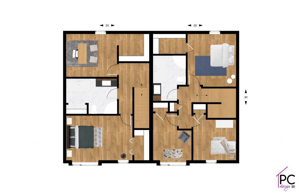 terrain-dev-plan-etage-Construction-residentiel